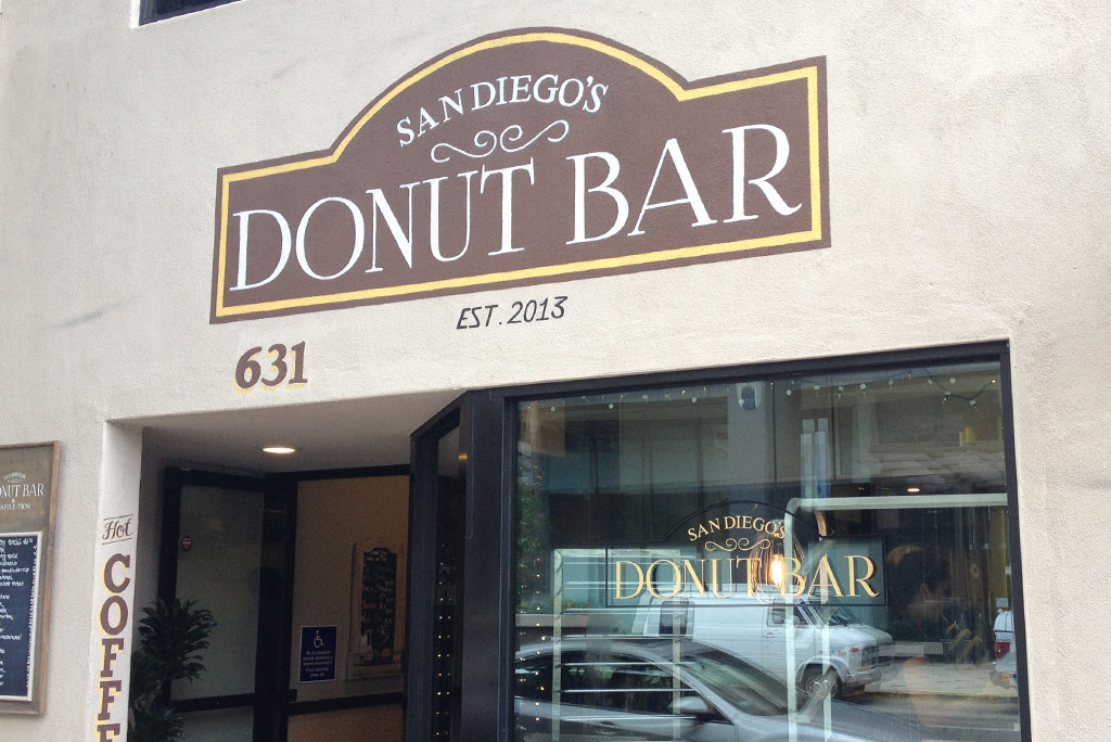 Starting off the weekend at donut bar san diego streets for Basement bar san diego