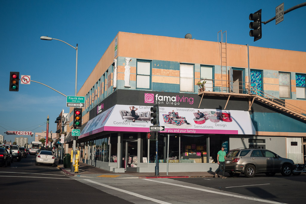 Furniture Store Opens At Fourth And University San Diego