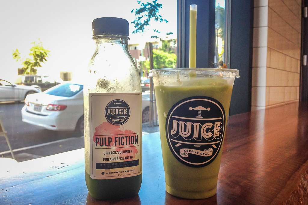 Juice in East Village, San Diego